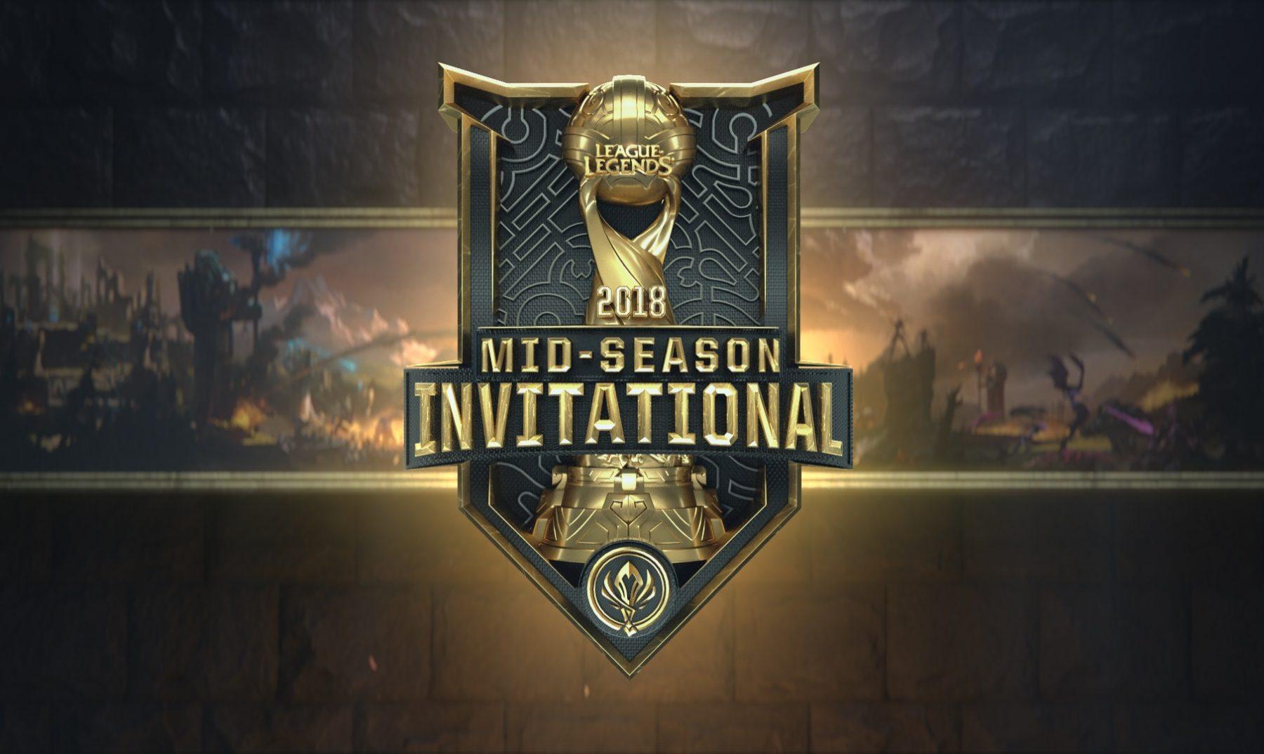 League of Legends Platige Image Mid-Season Invitational 2018 5